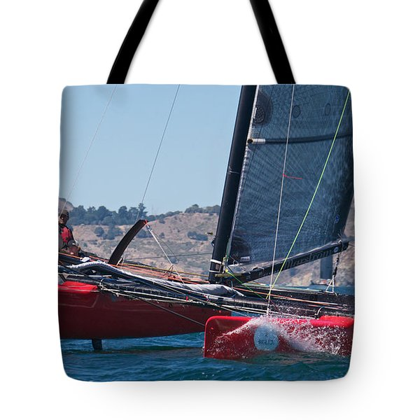 Upwind Spray Tote Bag