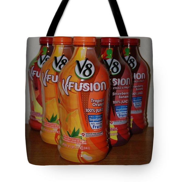V8 Fusion Tote Bag by Rob Hans