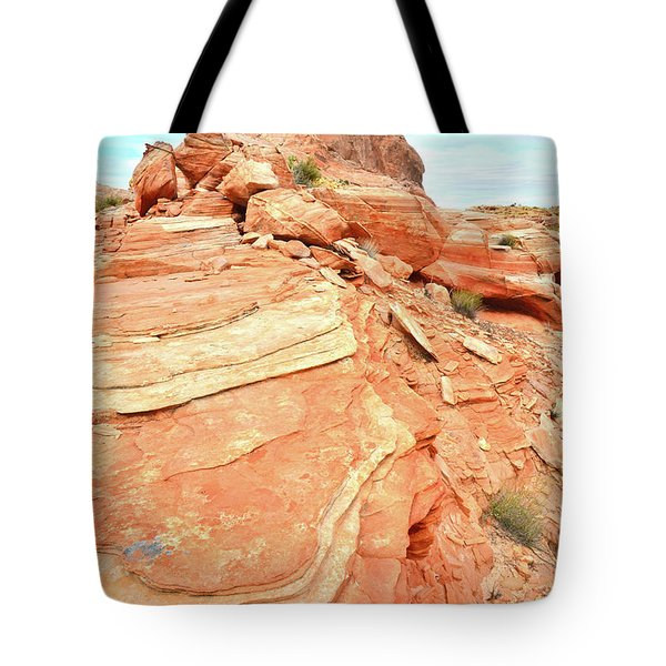 Valley Of Fire High Country Tote Bag