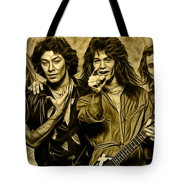 Van Halen Collection Tote Bag