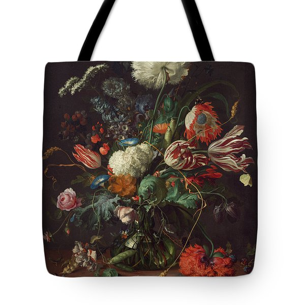Vase Of Flowers Tote Bag
