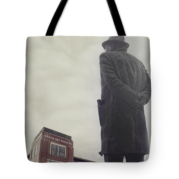 Vince Lombardi Tote Bag