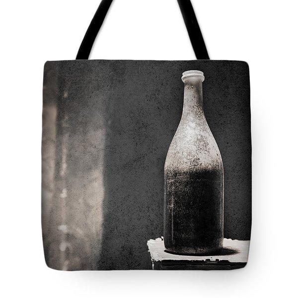 Vintage Beer Bottle Tote Bag