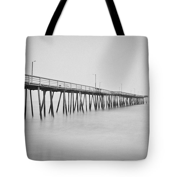 Virginia Beach Fishing Pier  Tote Bag