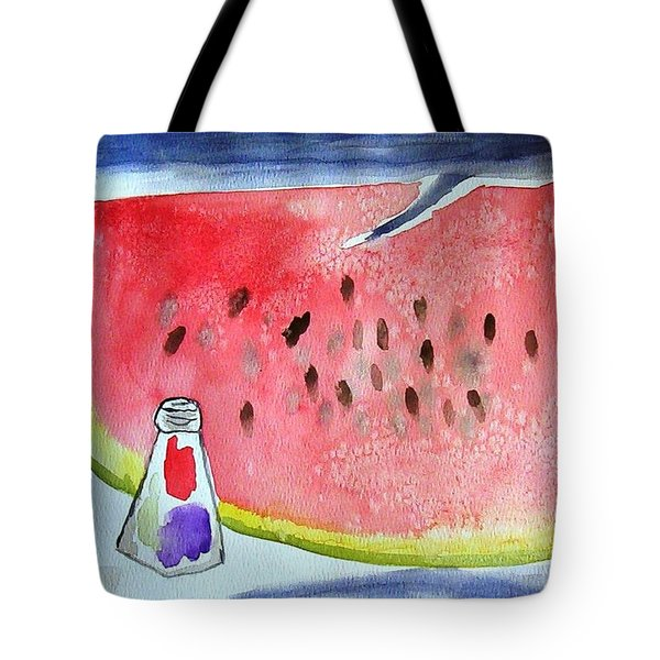 Watermelon Tote Bag by Jamie Frier
