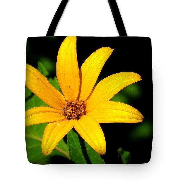 Tote Bag featuring the photograph Wild Flower by Eric Switzer