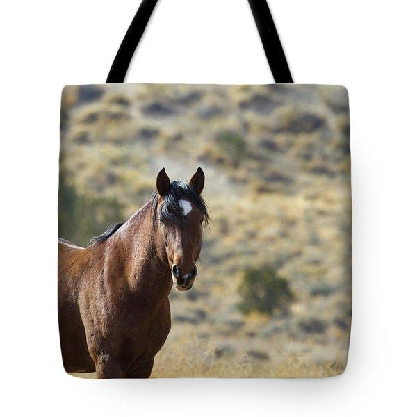 Wild Mustang Horse Tote Bag