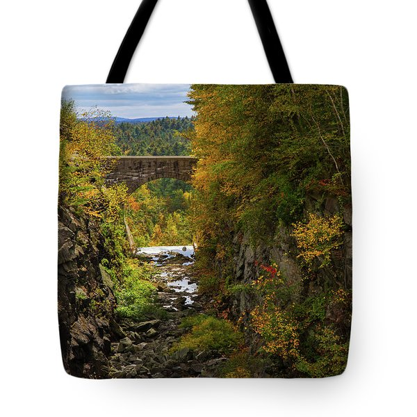 Winsor Dam Bridge Tote Bag