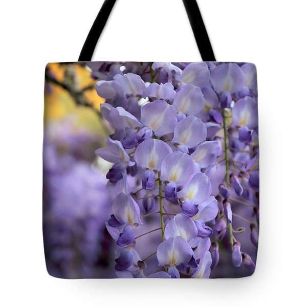 Wisteria Blossom Tote Bag