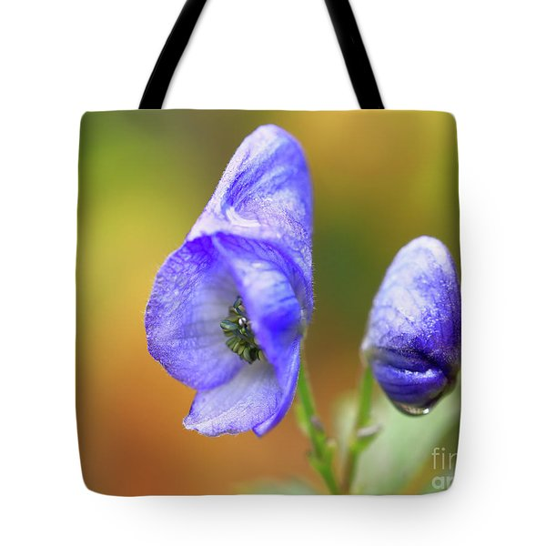 Wolf's Bane Flower Tote Bag