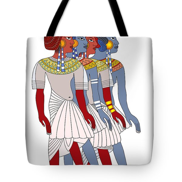 Women Of Ancient Egypt Tote Bag