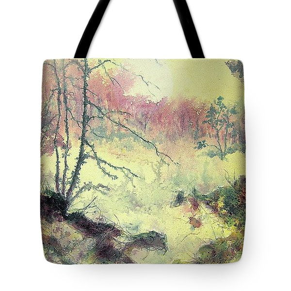 Woods And Wetlands Tote Bag