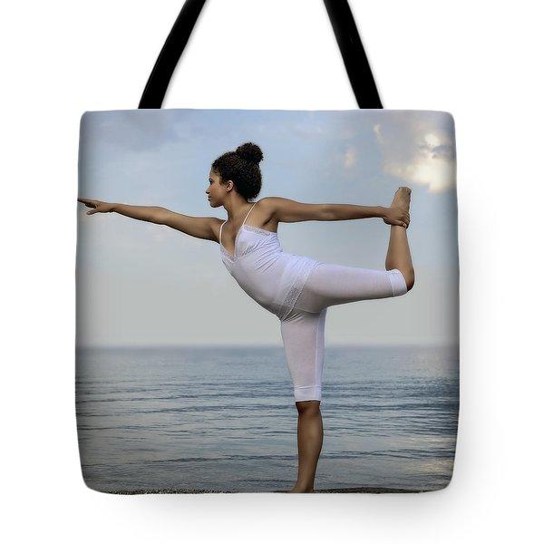 Yoga Tote Bag by Joana Kruse