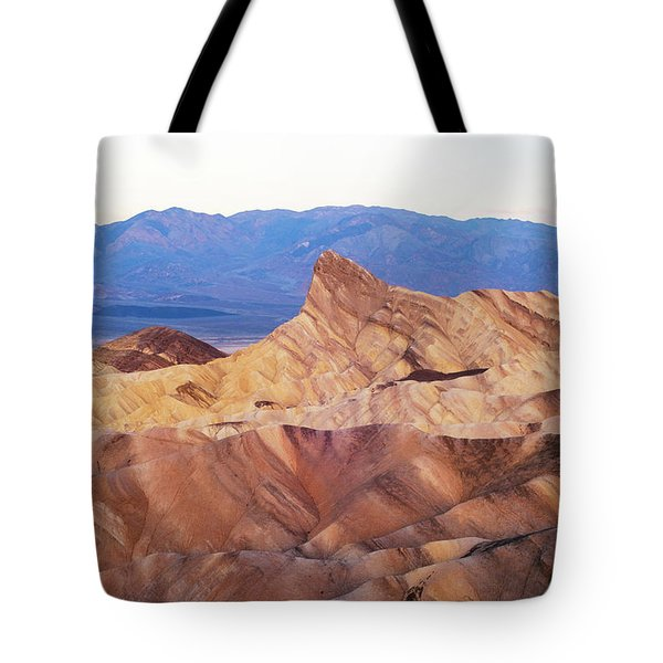 Tote Bag featuring the photograph Zabriskie Point by Catherine Lau