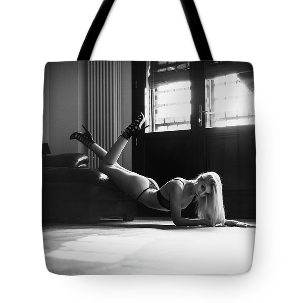 Tote Bag featuring the photograph .. by Traven Milovich