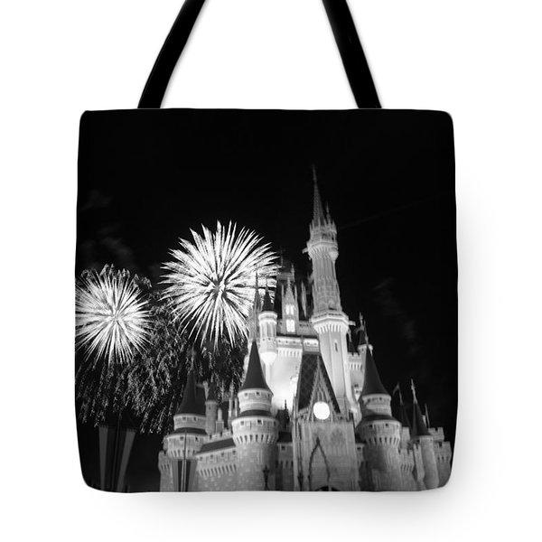 Cinderella Castle Tote Bag