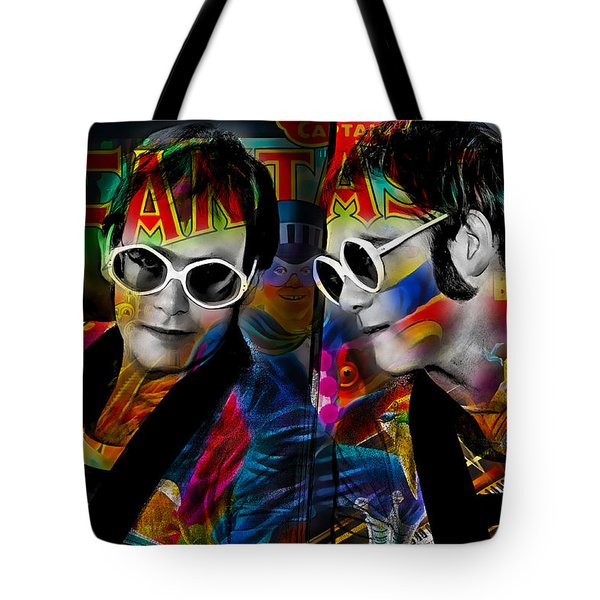 Elton John Collection Tote Bag