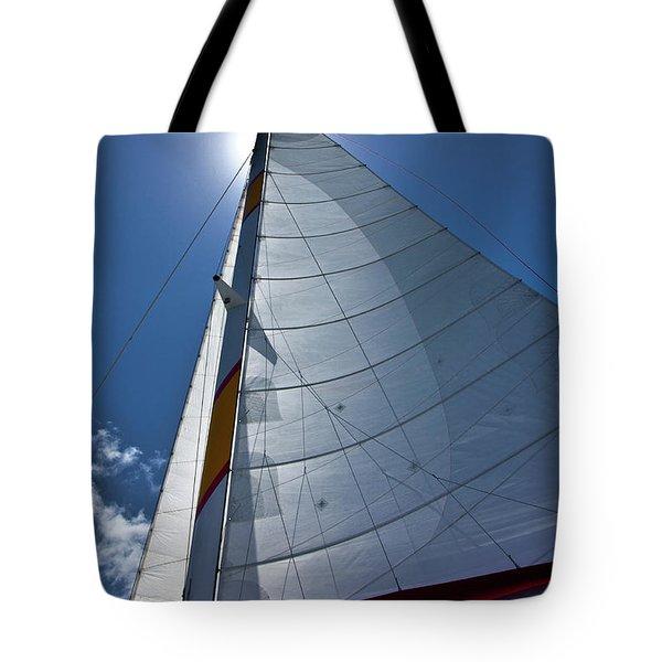 Sea And Clouds Tote Bag