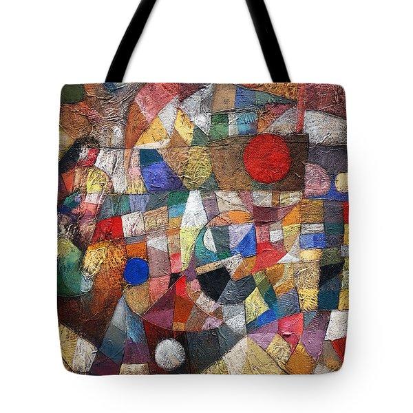 Untitled  Tote Bag by Ronex Ahimbisibwe