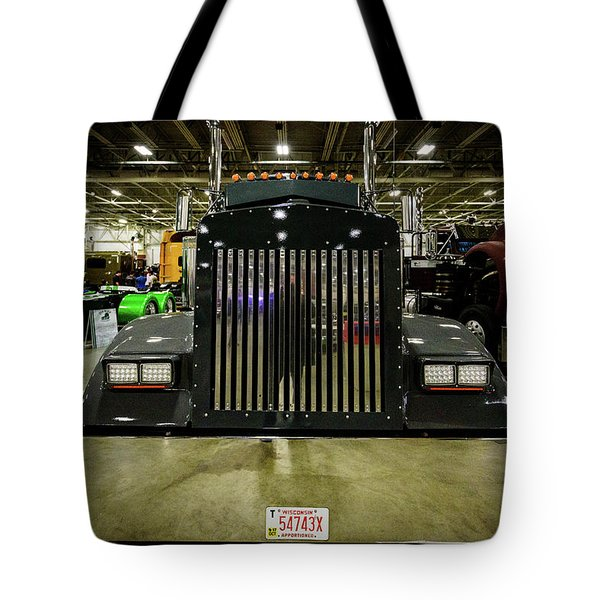 Tote Bag featuring the photograph 2000 Kenworth W900 by Randy Scherkenbach