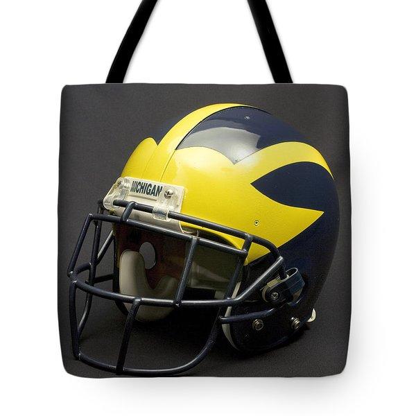 2000s Era Wolverine Helmet Tote Bag