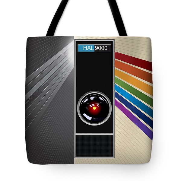 2001 A Space Odyssey Poster Print - No 9000 Computer Has Ever Made A Mistake Tote Bag