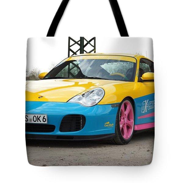 2002 Ok Chiptuning Manta Porsche 996 Turbo  1 Tote Bag