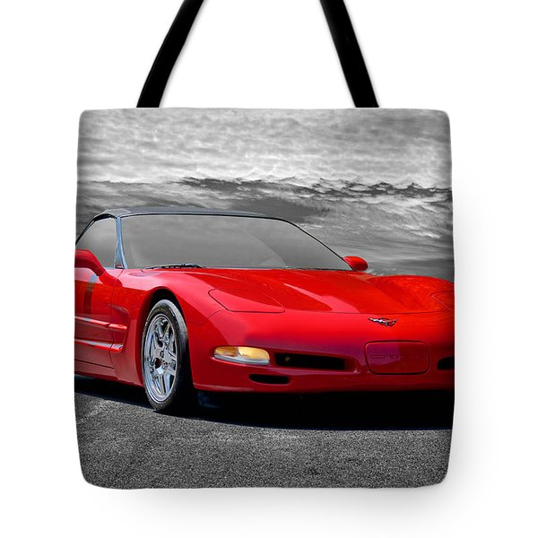 2005 Corvette C5 Convertible Tote Bag
