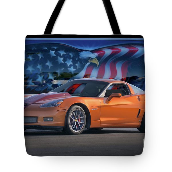 2005 Corvette Z06 427 II Tote Bag