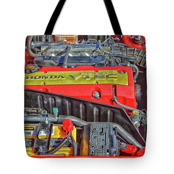2006 Honda S2000 Engine Tote Bag