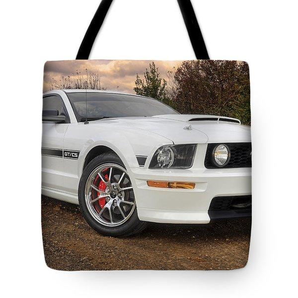 2008 Mustang Gt/cs - California Special - Sunset Tote Bag