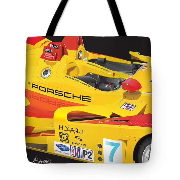 2008 Rs Spyder Illustration Tote Bag
