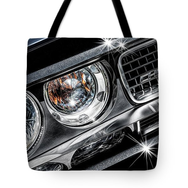 Tote Bag featuring the photograph 2009 Dodge Challenger by Brad Allen Fine Art