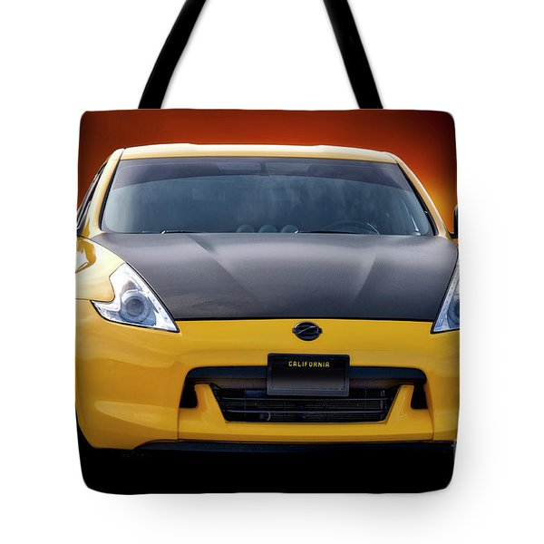 2009 Nissan 370z 'head On' I Tote Bag