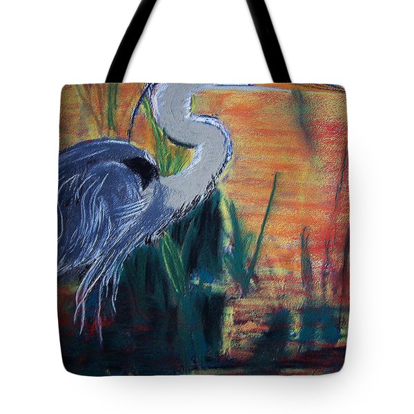 20090813229 Great Blue Heron Tote Bag