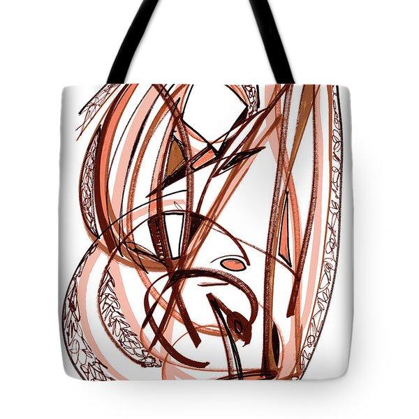 2010 Abstract Drawing Five Tote Bag