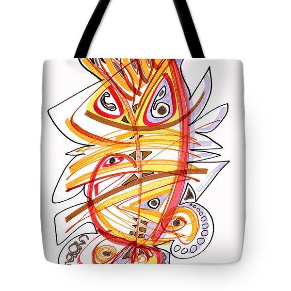 2010 Drawing Three Tote Bag