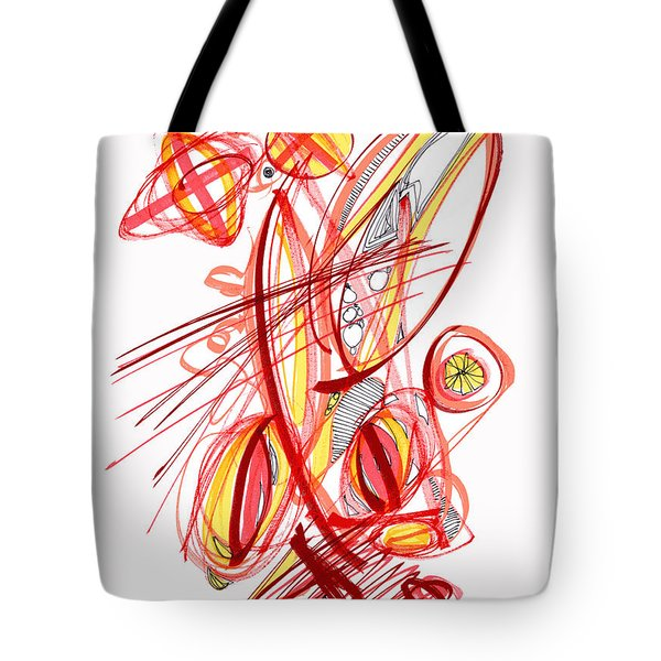 2010 Drawing Two Tote Bag