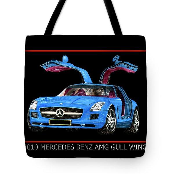 2010 Mercedes Benz S L S A Mg Tote Bag