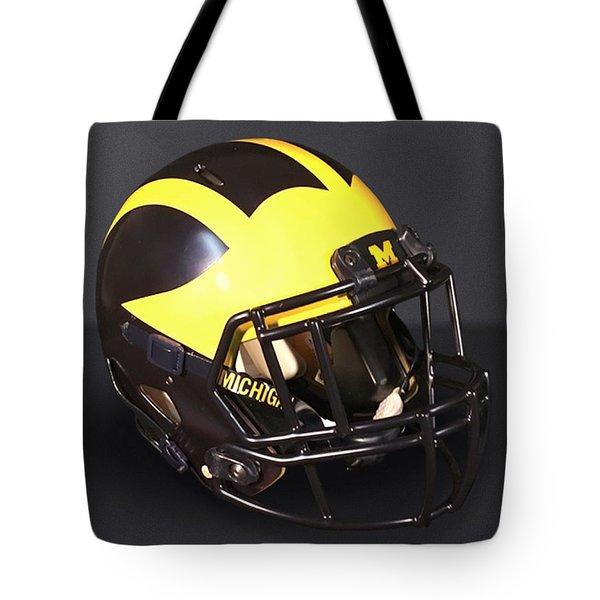 2010s Wolverine Helmet Tote Bag