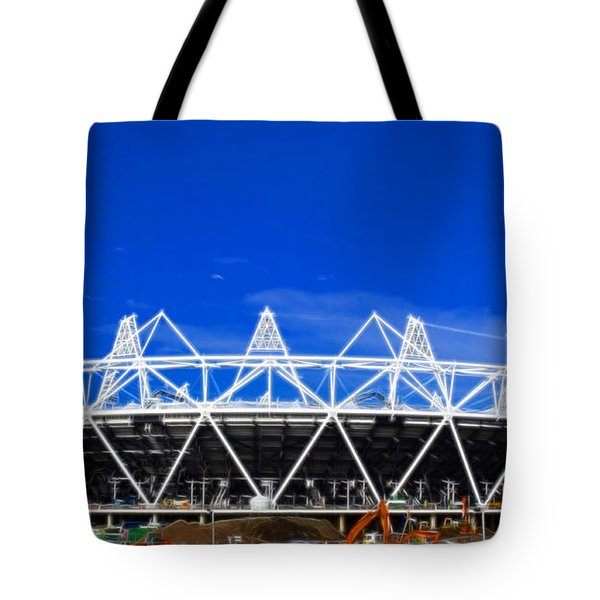 2012 Olympics London Tote Bag