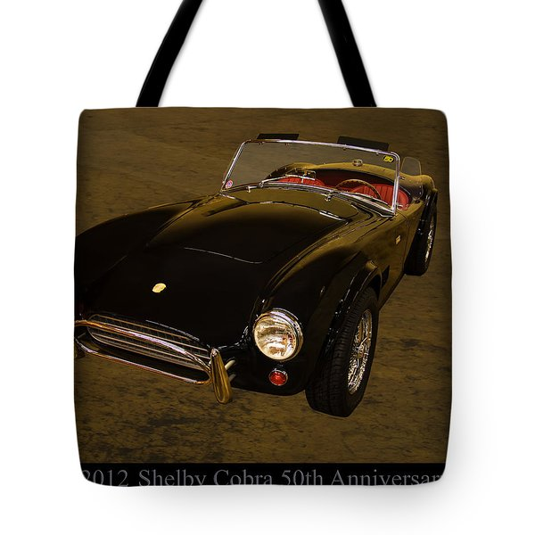 2012 Shelby Cobra 50th Anniversary  Tote Bag