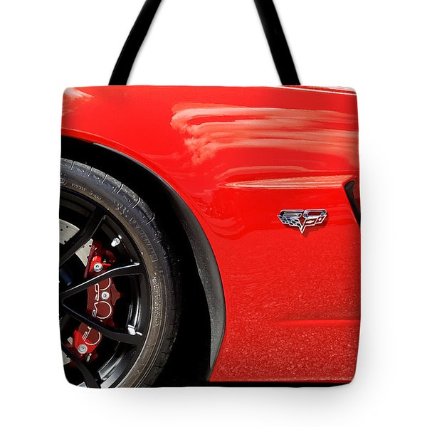 2013 Corvette Tote Bag