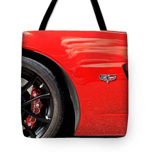 2013 Corvette Tote Bag by Rich Franco