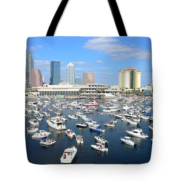 2013 Gasparilla Pirate Fest Tote Bag by David Lee Thompson