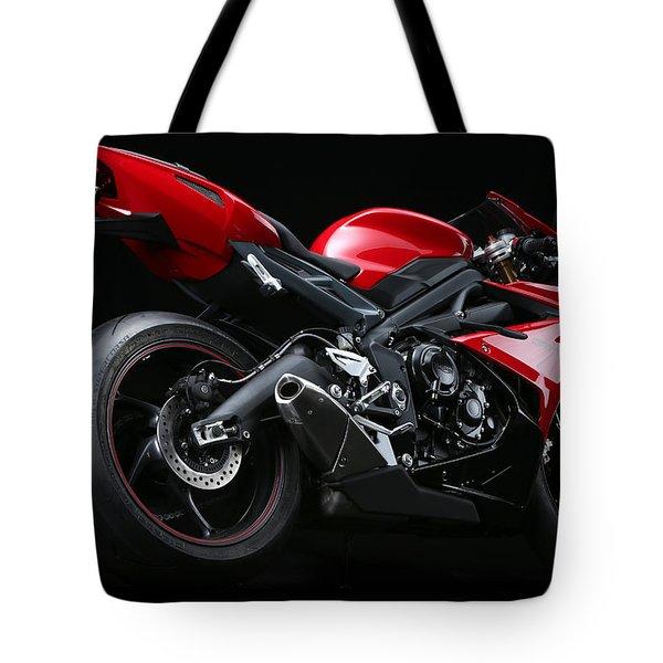 2013 Triumph Daytona 675 Tote Bag