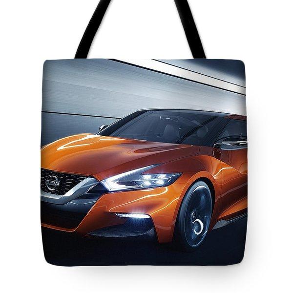2014 Nissan Sport Sedan Concept Tote Bag