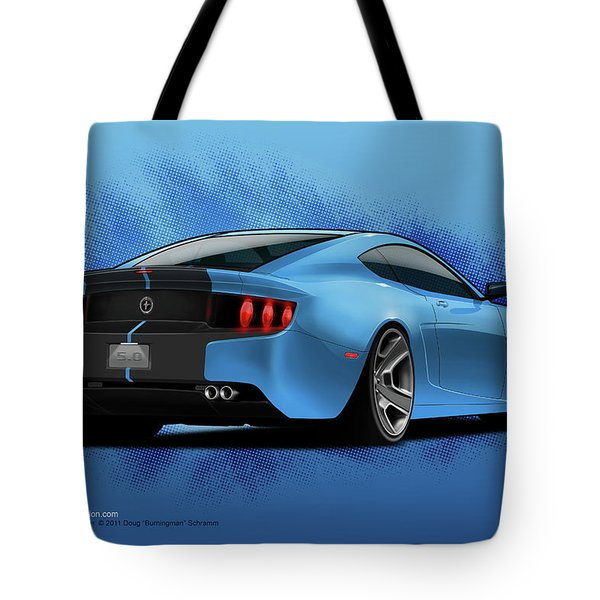 2014 Stang Rear Tote Bag