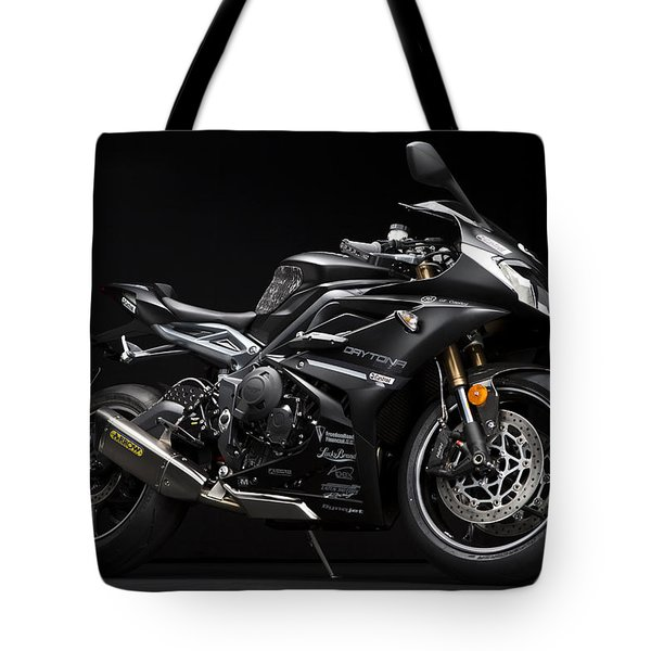 2014 Triumph Daytona 675 Disalvo Edition Tote Bag