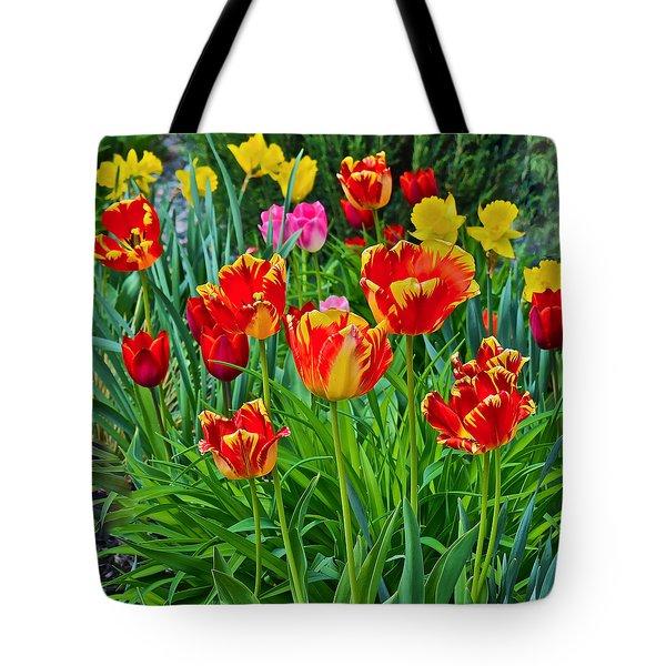 2015 Acewood Tulips 6 Tote Bag